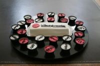 Wits End Wizardry's launch cake goes down well