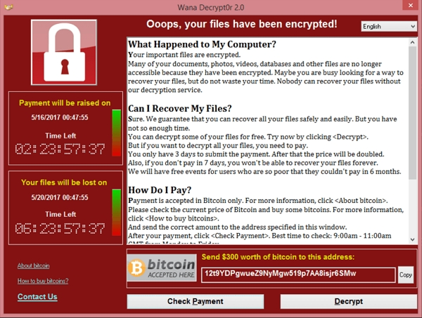 WannaCry and Cybersecurity